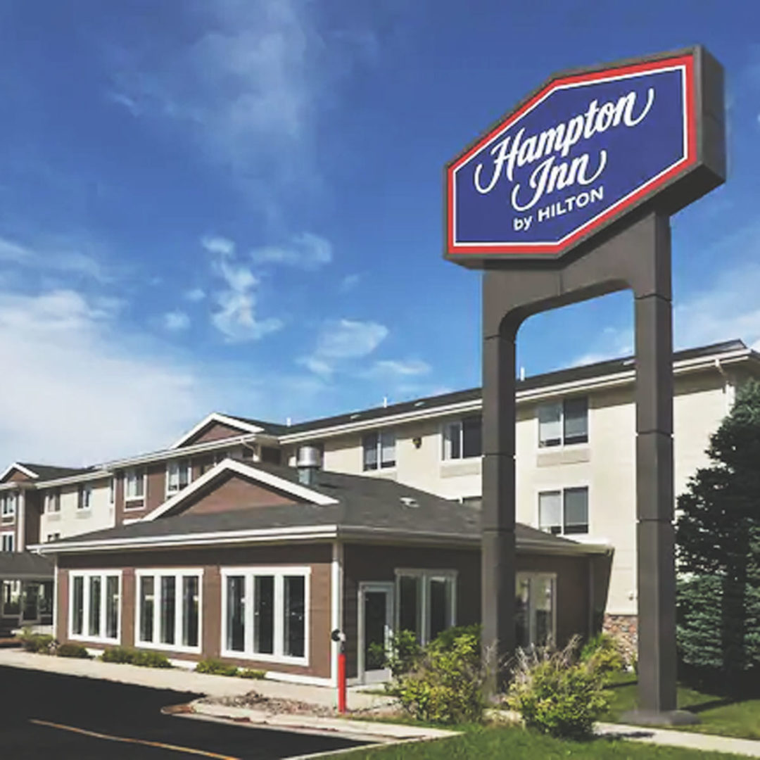 The Hampton Inn out of Helena, Montana