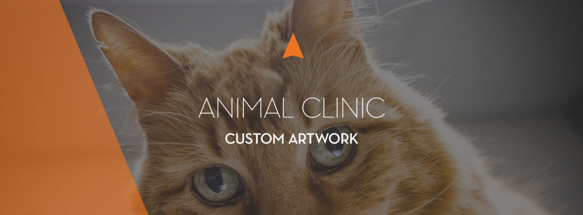 The Animal Clinic of Kalispell Custom Artwork